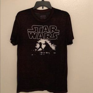 Men's Star Wars Light Saber Battle T-shirt